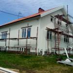 Panelbyte + isolering, Hamburgsund (taket är också nylagt. 14