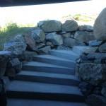 Murad och putsad trappa, Rågårdsvik