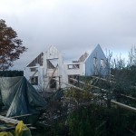 tvåplanshus, husresning, Trollhättan 7